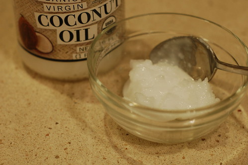 Organic coconut oil by Eve Fox, the Garden of Eating blog, copyright 2013