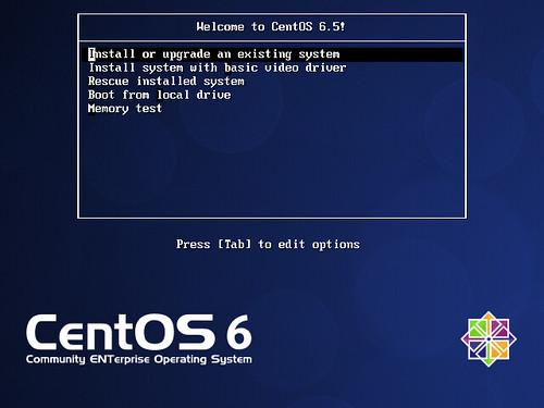 CentOS 6.5 minimal install #1