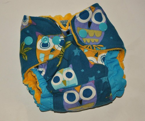 Bumstoppers Newborn ai2 Owls OOAK
