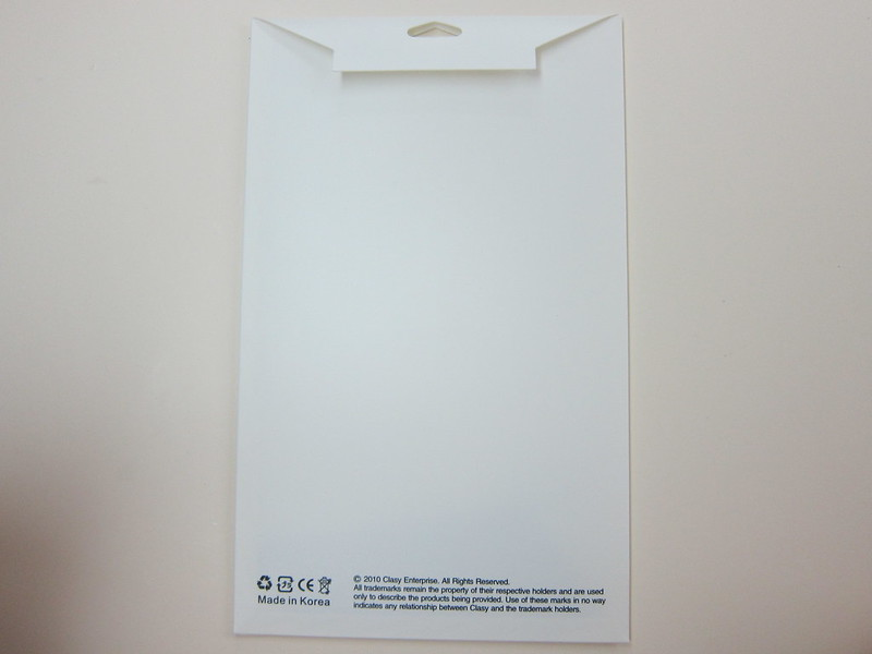 Clasy Screen Protector - Back