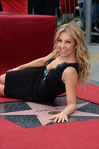 US-ENTERTAINMENT-THALIA-STAR WALK OF FAME