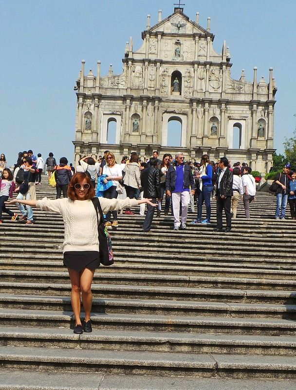 at the ruins macau