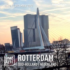 #instaplace #instaplaceapp #place #earth #world #nederland #netherlands #NL #rotterdam #night