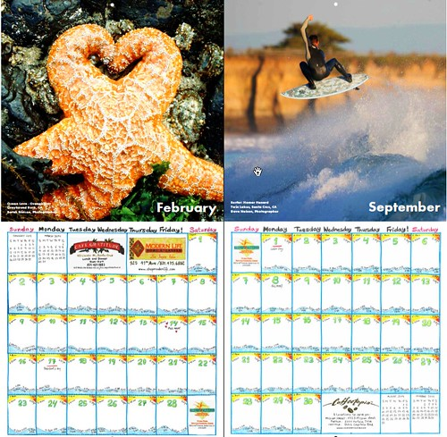 Tide & Light Calendar