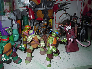 Nickelodeon TEENAGE MUTANT NINJA TURTLES :: THE RAT KING { tOkKustom vermin wash } xviii / RAT ATTACKS!! (( 2013 ))