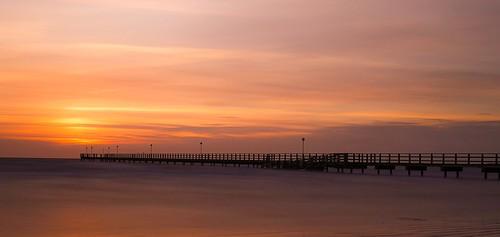 ocean bridge sunset cloud sun water strand canon landscape photo horizon natur filter nd sverige westcoast geotag havet joakim brygga falkenberg västkusten skrea berndes canon6d adobephotoshopexpress jberndes joakimberndes