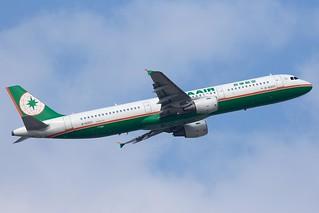 B-16203 | A321-211 | EVA Airways | TPE
