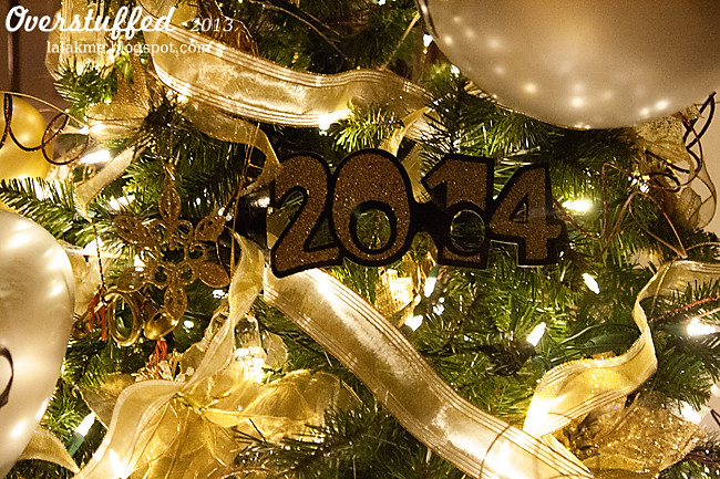 New Year's Eve Tree Decorations