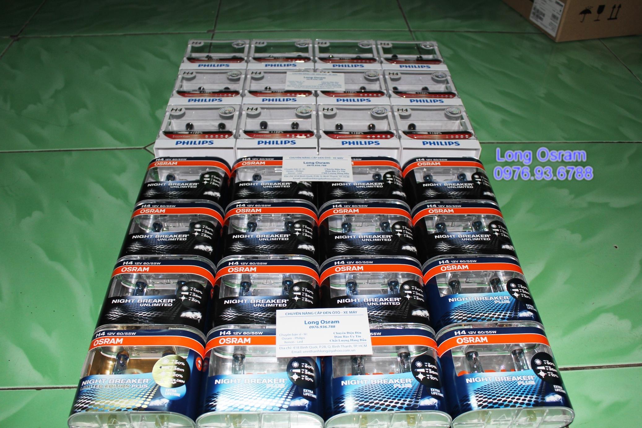Osram Night Breaker, Philips Xtreme, Xenon Germany...ánh sáng cho xế yêu đây. - 1