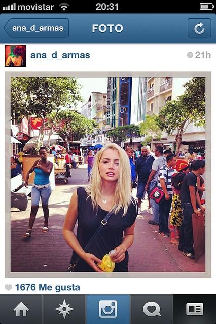 Instagram Ana de Armas Gemmasu