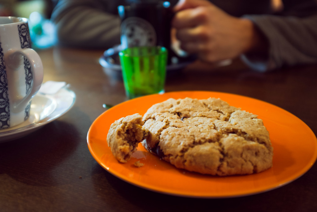Cookie géant du Café Babalu