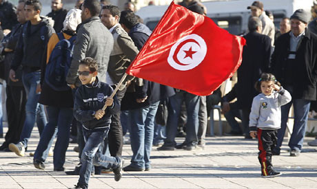 Tunisians celebrated the third anniversary of the departure of former pro-western dictator Ben Ali. The occasion was commemorated fairly quietly. by Pan-African News Wire File Photos