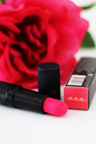 Review MeMeMe Hot Magenta Lip Cream