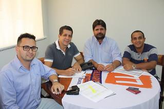 Dehon Aparecido Toso tem reunião sobre as Eleições 2014 no Solidariedade-SP