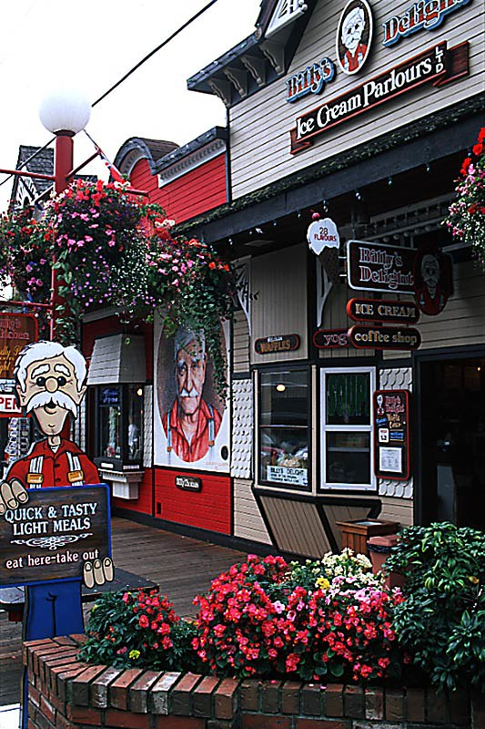 Chemainus, Cowichan Valley, Vancouver Island, British Columbia, Canada