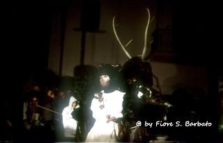 """Castelnuovo al Volturno (IS), 1993, Rappresentazione """"Gl' Cierv"""""""