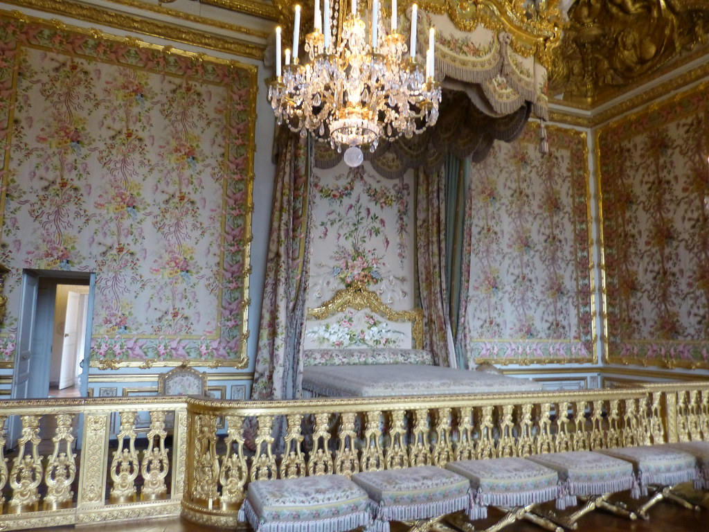 Queen's Bedroom, Versailles