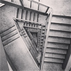 Guess where this is! #stairs #uw #b&w
