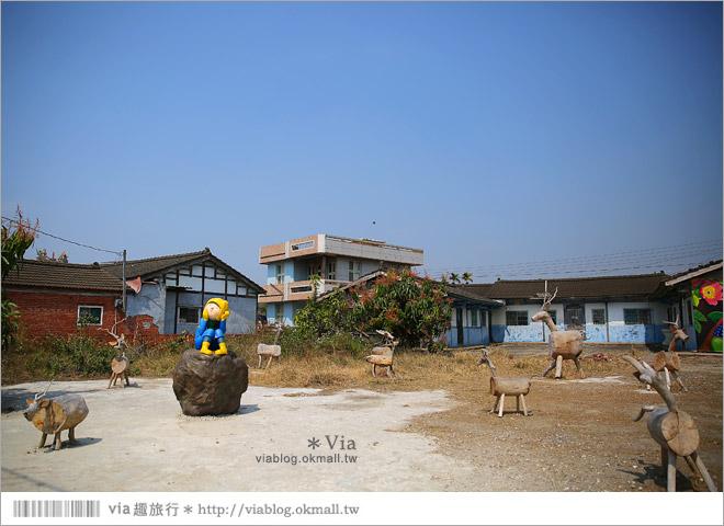 【台南後壁幾米】後壁土溝農村美術館‧農村就是美術館!幾米作品可愛現縱~30