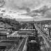 Edinburgh Vista Mono by Christopher Combe Photography