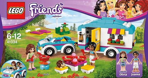 LEGO Friends Summer Caravan (41034)
