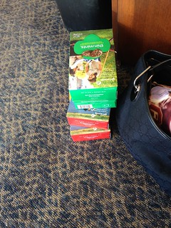 For Will… Minus the row if thin mints I ate