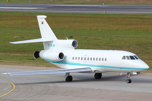 Aero Dienst - F900 - D-ALMS (1)
