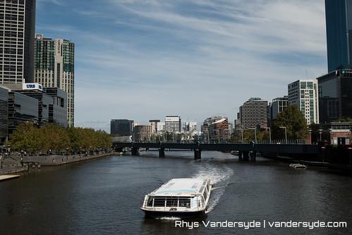 The Yarra River - Melbourne, Australia, 2014