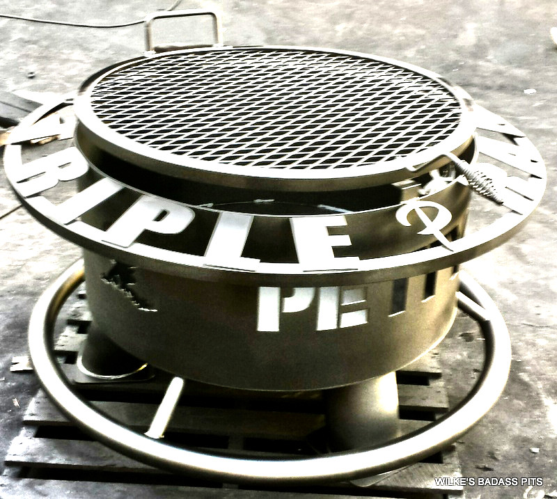 """CUSTOM DESIGN, CHARCOAL GRATE 2"""" SOLE SAVER AND REGULAR GRILL"""