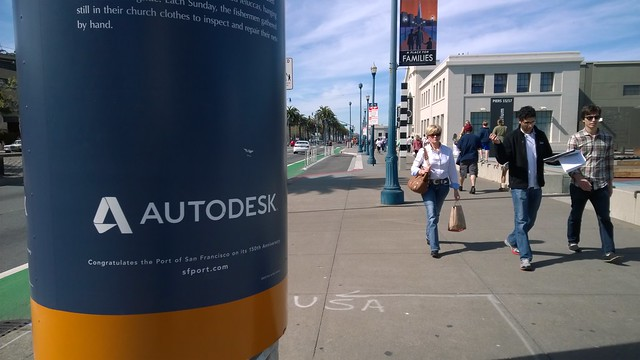 Hard to avoid Autodesk on the S.F. waterfront