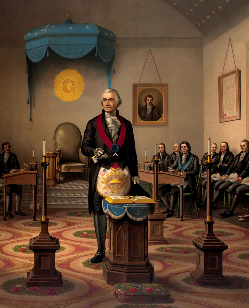george washington as freemason