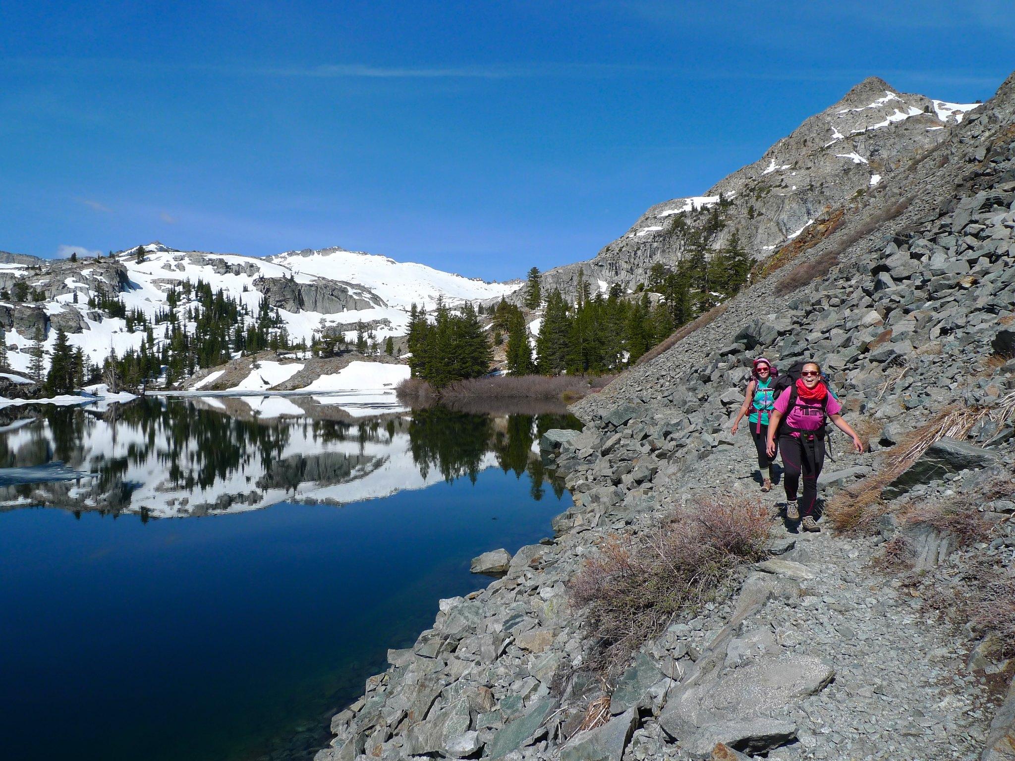Leaving Heather Lake