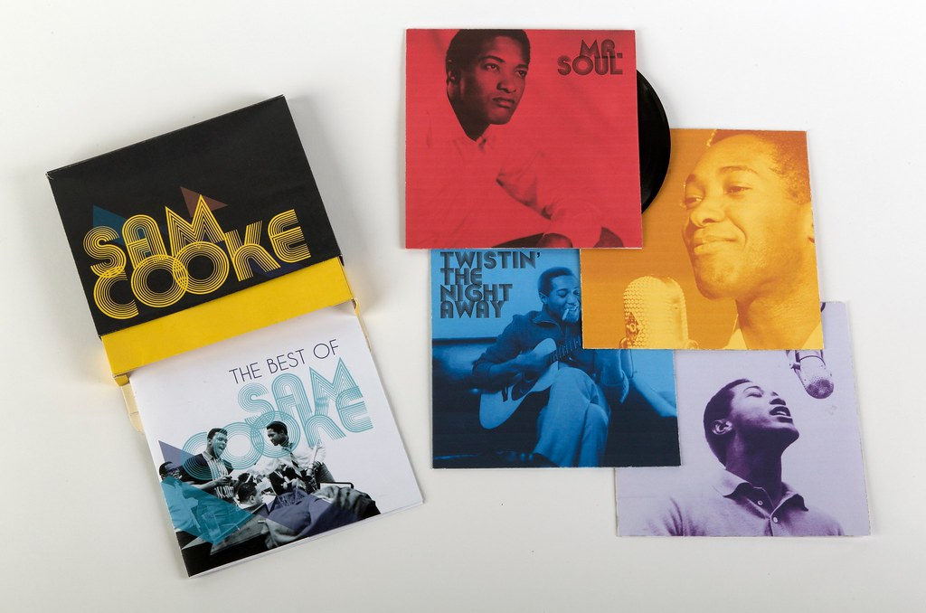 """Sam Cooke LP Set"""