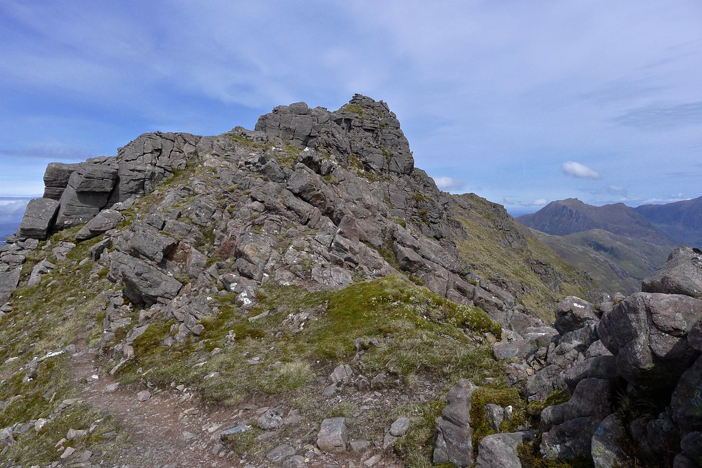 Pinnacles of Beinn Tarsuinn