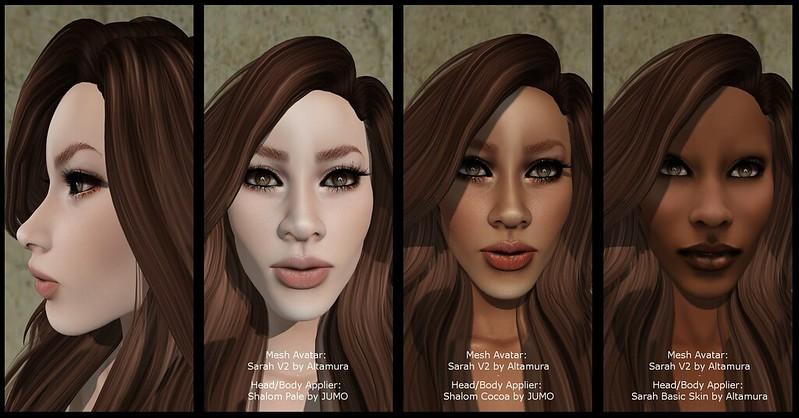 275. Newness @ ApplyME!: Sarah Mesh Avatar by Altamura