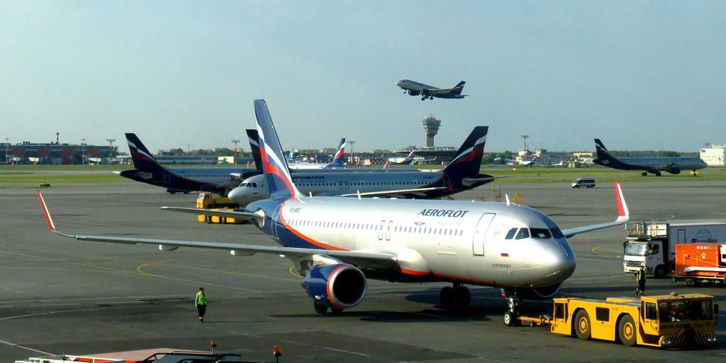 VQ-BSE - A320 - Aeroflot