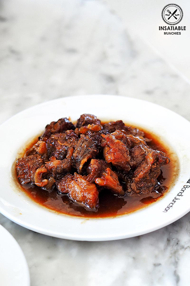 New Shanghai, Bondi: Sydney Food Blog Review: Sweet & sour pork rib in dark vinegar sauce, $5.80