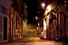 Those dark streets...