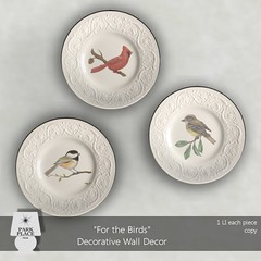 [Park Place] For The Birds Wall Decor