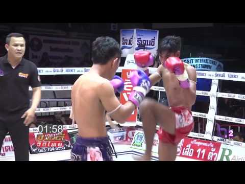 ศึกมวยดีวิถีไทยล่าสุด 26 กุมภาพันธ์ 2560 มวยไทยย้อนหลัง Muaythai HD 🏆 - YouTube