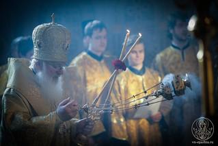 Литургия в Софийском соборе 200