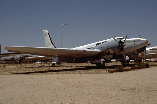 Douglas B-23 Dragon at the Pima Air & Space Museum, July 1980.
