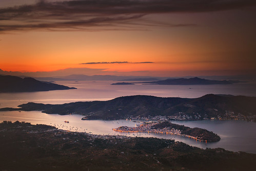 Poros from above