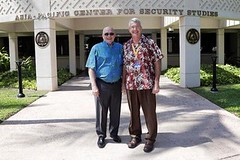 EWC President Vuylsteke visits the Daniel K. Inouye Center for Security Studies