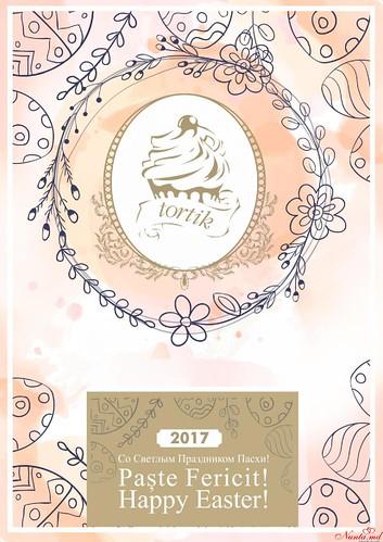 Торты для любых праздников и торжеств Tortik.md > Совсем скоро светлый праздник Пасхи, к которому мы готовимся с особым трепетом!
