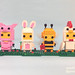 Collectible Animal Suit Brickheadz (2017) by Jared Chan