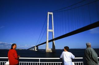 Norwegen 1998 (007) Storebæltsbroen