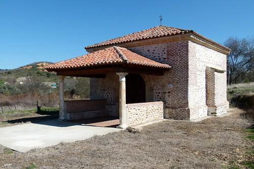 MATARRUBIA (Campiña del Henares-Guadalajara). 2014. Ermita de la Soledad.