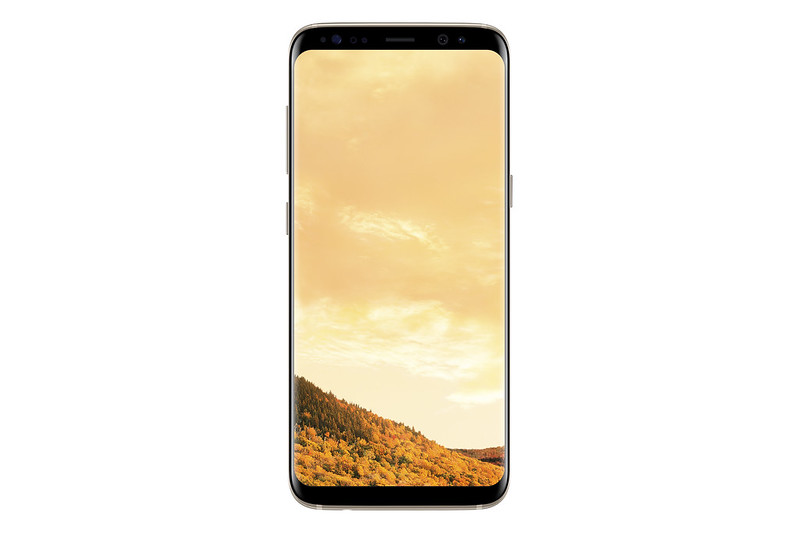Samsung Galaxy S8 - Maple Gold - Front