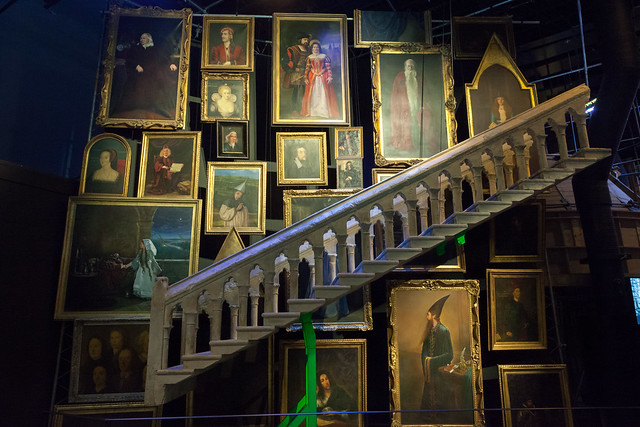 Hogwarts portraits | The Making of Harry Potter | Warner Bros Studio Tour-26